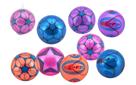 Míč barevný nafouknutý guma 23 cm, mix barev