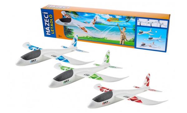 Letadlo házecí, polystyrénový model