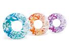 Kruh plovací Květiny 91 cm, mix barev