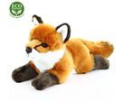 Plyšová liška ležící, 23 cm