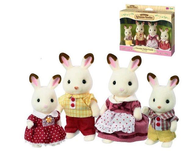 """Sylvanian Families Rodina """"chocolate"""" králíků, Sleva 21%"""