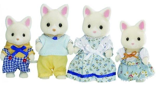 Sylvanian Families Rodina hedvábných koček, Sleva 21%