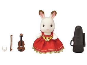 Sylvanian Families Město - houslistka chocolate králík