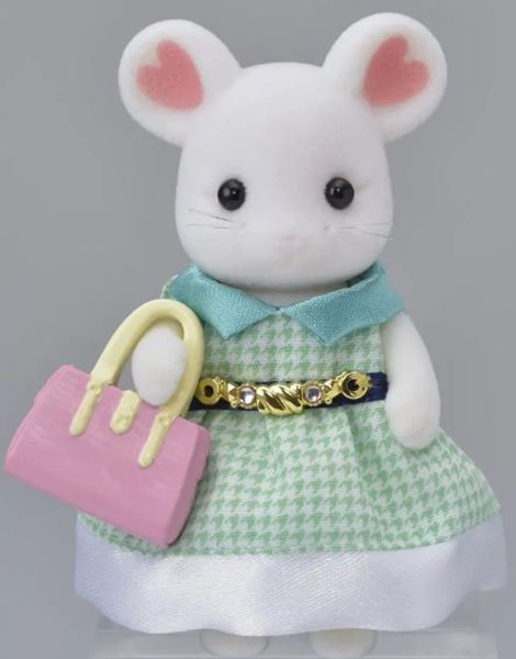 Sylvanian Families Město - slečna Marshmallow myška