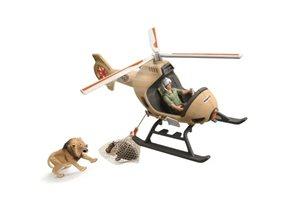 Schleich 42476 Záchranný vrtulník pro zvířata
