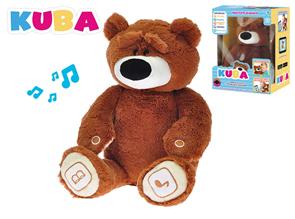 Naučný plyšový medvídek KUBA - propojitelný s tabletem