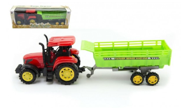 Traktor s vlekem 35cm na setrvačník