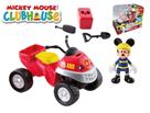 Mickey Mouse záchranářská čtyřkolka 10cm s kloubovou figurkou 8cm