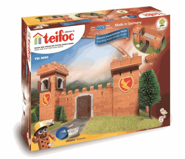Stavebnice Teifoc Rytířský hrad 460ks