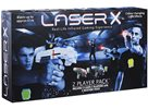 Pistole Laser-X na infračervené paprsky (dvojitá sada)