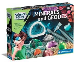 Dětská laboratoř - Výroba kamenů a minerálů