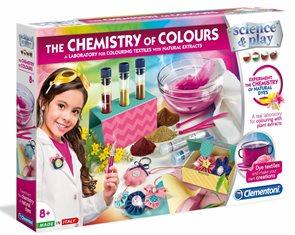 Dětská laboratoř - Sada barevná chemie