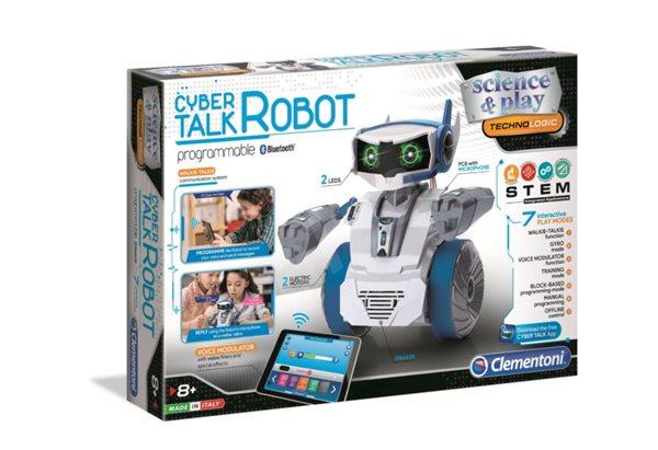 Robot CYBER mluvicí