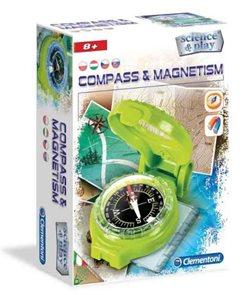Kompas a magnety
