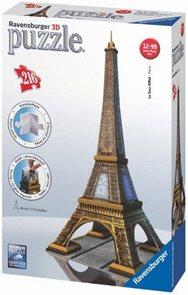 Puzzle 3D Eiffelova věž, 216 dílků