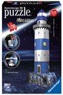 Puzzle 3D Maják v příboji (Noční edice), 216 dílků