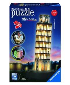 Puzzle 3D Pisa (Noční edice), 216 dílků