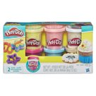 Play-Doh Sada s konfetami - 6 ks
