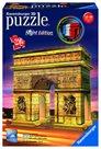 Puzzle 3D Vítězný oblouk (noční edice), 216 dílků