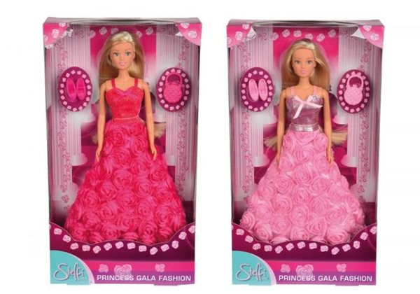 Panenka Steffi Gala Princess, mix 2 druhů