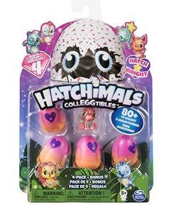 Hatchimals zářící zvířátka čtyřbalení s bonusem S4