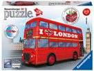 Puzzle 3D Londýnský autobus, 216 dílků