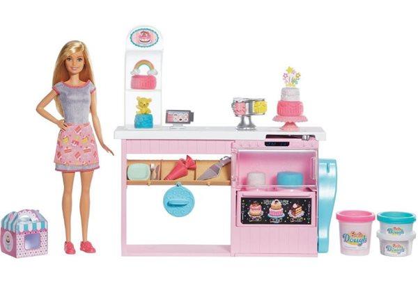 Barbie Cukrárna herní set