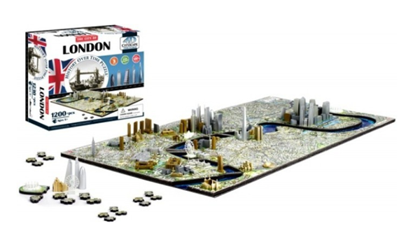 Puzzle 4D - Cityscape Time panorama Londýn