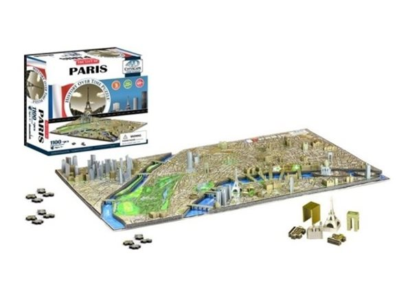 Puzzle 4D - Cityscape Time panorama Paříž