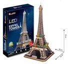 Puzzle 3D Eiffelova věž / led