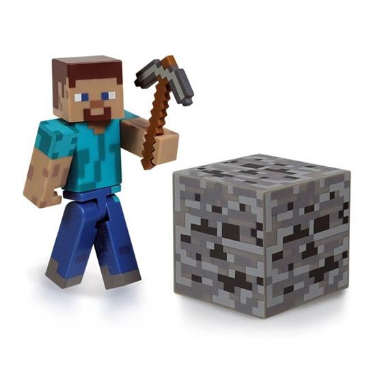 Figurka Minecraft - Steve I. - 15x18 cm
