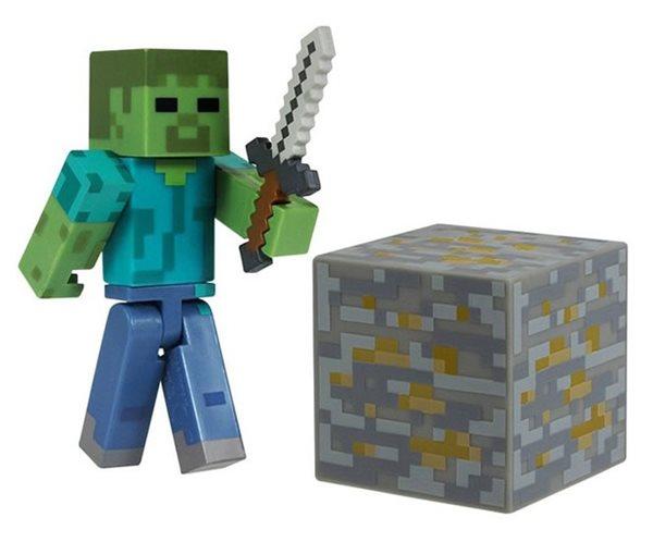 Figurka Minecraft - Zombie - 15x18 cm