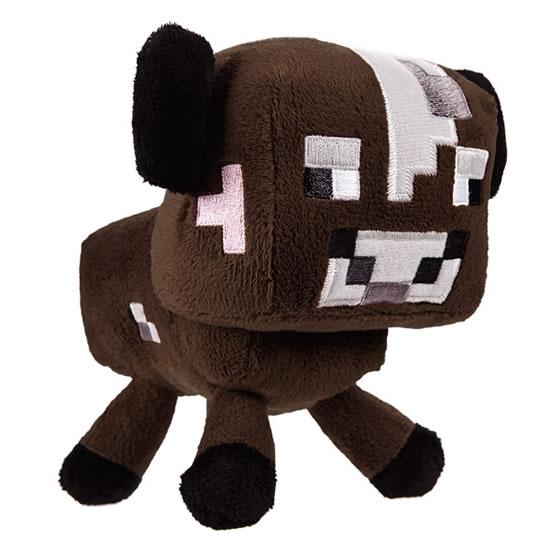 Figurka Minecraft - Kráva plyš 15 cm