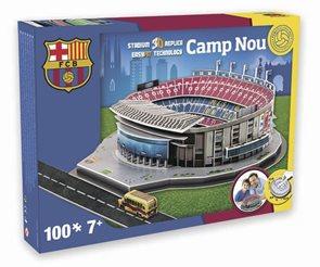 Puzzle 3D Nanostad: Camp Nou (Barcelona)