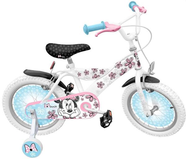 Jízdní kolo 16´´ Minnie Exclusive s postranními kolečky, Doprava zdarma