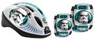 Bezpečnostní set Star Wars helma, kolenní a loketní chrániče
