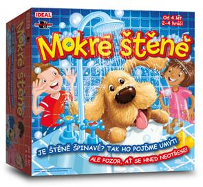 Mokré štěně - zábavná hra