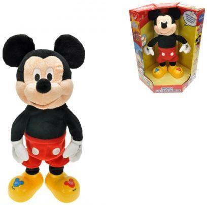 Mickey Mouse plyšový 33 cm na baterie česky mluvící a zpívající
