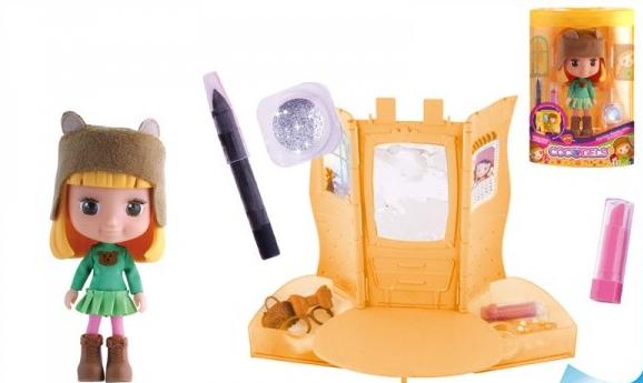Panenka Cocodels Ottie 16cm s pokojíčkem a make-up doplňky