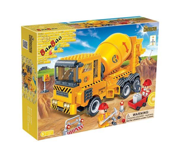 BanBao stavebnice Construction nákladní auto míchačka betonu