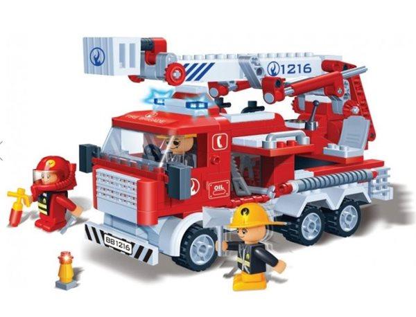 BanBao stavebnice Fire hasičské auto