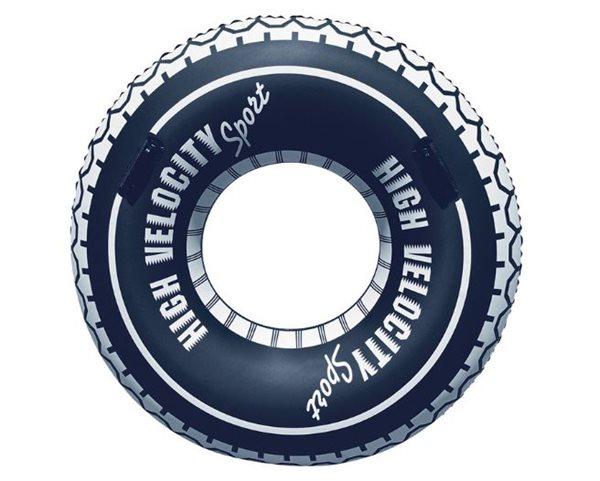 Kruh nafukovací 114cm design pneumatika 12let+