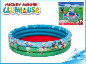 Bazén Mickey Mouse 122x25cm 3komory