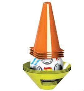 Fotbalové kužely + mety s míčem