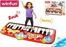 Piano Jumbo step-to-play 178 x 78cm, 24 kláves na baterie se světlem a zvukem