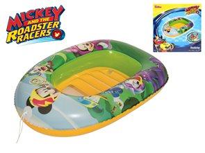 Člun nafukovací Mickey Mouse 102 x 69 cm s průzorem