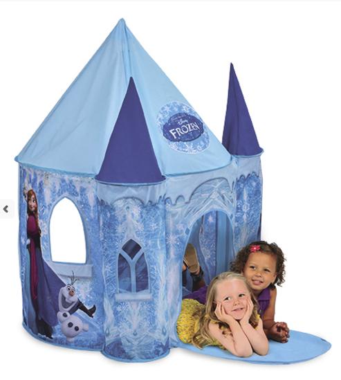 Dětský stan - Ledový hrad Ledové království