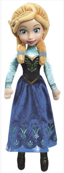 Zpívající plyšová panenka Anna - Ledové království