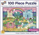 100 Puzzle v krabici - Princezny (37×50cm)