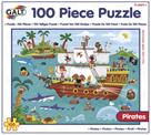 100 Puzzle v krabici - Piráti (37×50cm)